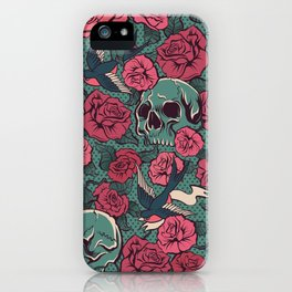red roses iPhone Case