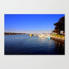 Thompson River - Paynesville - Australia Canvas Print