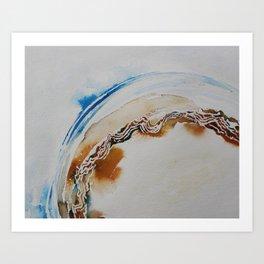 Curvature Art Print
