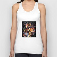 ghost in the shell Tank Tops featuring Ghost in the Shell by ururuty