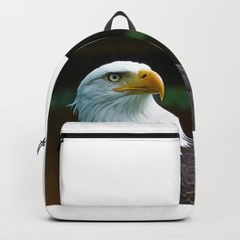 American Bald Eagle Head Backpack