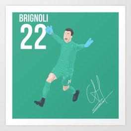 Brignoli - Benevento Art Print