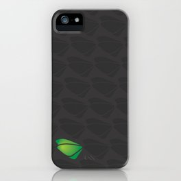 Black - tryout iPhone Case