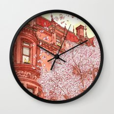 Bostonia Wall Clock