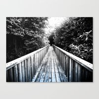 onward Canvas Prints featuring Onward by SmallIslandInTheSun