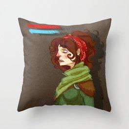 Mage Throw Pillow