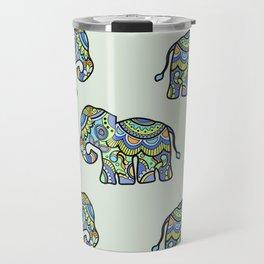 Indian elephants Travel Mug