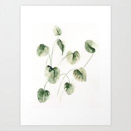 Drop Leafs Art Print