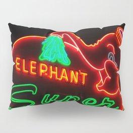 Elephant Super Car Wash Pillow Sham