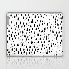 Polka rain drops Laptop & iPad Skin