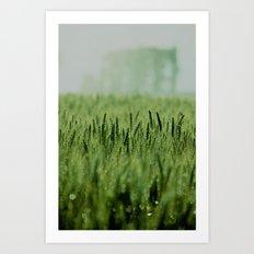 Crop Art Print
