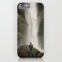 Latourell Falls // Columbia River Gorge, Oregon iPhone Case