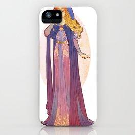 Redesigned Art Nouveau Aurora iPhone Case