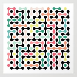 Network Analysis Art Print