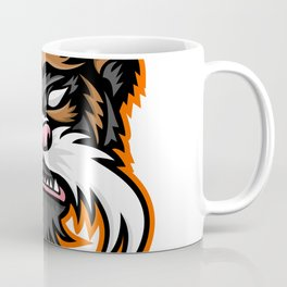 Emperor Tamarin Monkey Mascot Coffee Mug