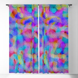 field of circles Blackout Curtain