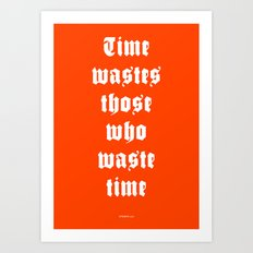 WASTED /2/ Art Print