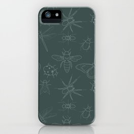 Pretty Insects iPhone Case