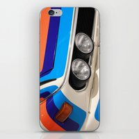 bmw iPhone & iPod Skins featuring BMW CSL by Internal Combustion