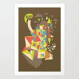 Yeah! Art Print