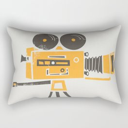 Cine Camera Rectangular Pillow