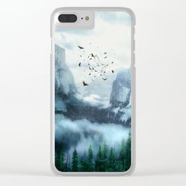 Mountain Morning 3 Clear iPhone Case
