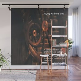 Happy Father's Day Wall Mural