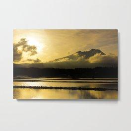 Myoko Sunset  Metal Print