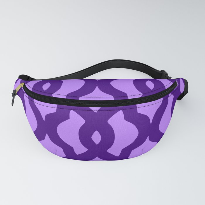 Grille No. 2 -- Indigo Fanny Pack