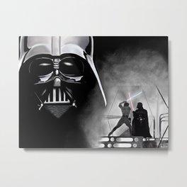 Vader Skywalker Metal Print
