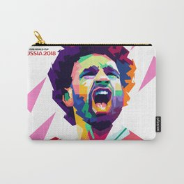 Mohammad Salah In Pop  Art Carry-All Pouch