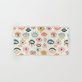 Mystic Eyes – Primary Palette Hand & Bath Towel