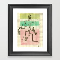 Woman_3 Framed Art Print