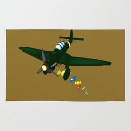 candy bomber Rug