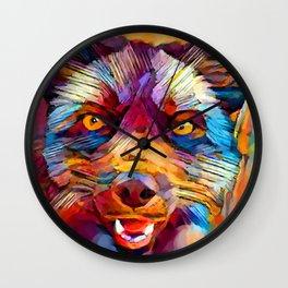 Fox 7 Wall Clock