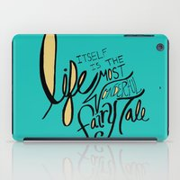 fairy tale iPad Cases featuring Fairy Tale by Leah Flores