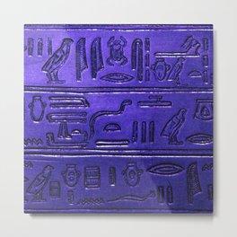 Hieroglyphs 2014-1028 Metal Print