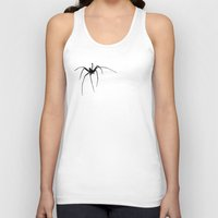 spider Tank Tops featuring Spider by Laura