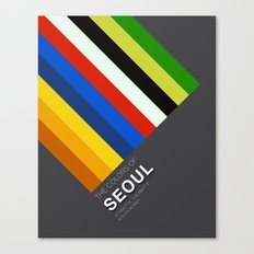 Colors of Seoul Canvas Print