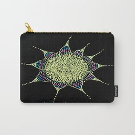 meditate Doodle Dots Carry-All Pouch