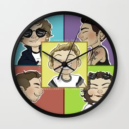 itty bitty wee one direction Wall Clock