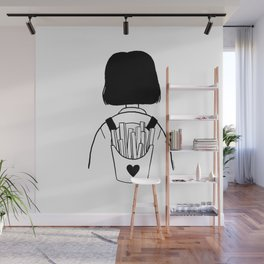 Fries lover Wall Mural