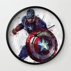 CaptainAmerica Wall Clock