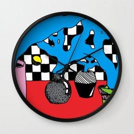 Some Pots Wall Clock