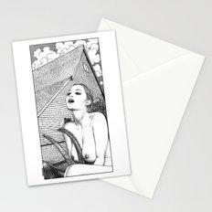 asc 702 - La sorcière (A New England folktale) Stationery Cards