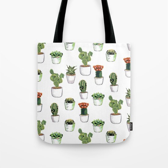 Cacti &  Pugculents Tote Bag