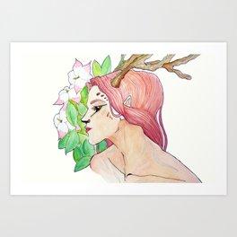 Nymphet I Art Print