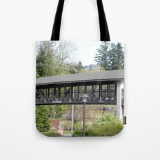 Bridge at the Falls Tote Bag