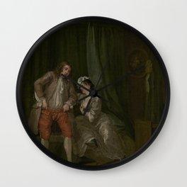 William Hogarth - After Wall Clock