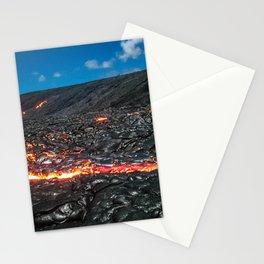 Lava field Stationery Cards